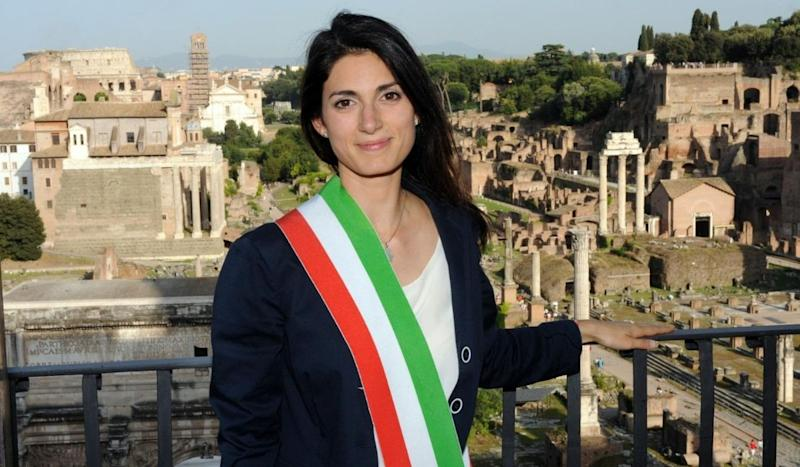 Virginia Raggi autoisolamento