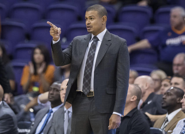 Earl Watson wasn't the leader the Suns needed this season, which was apparent last season when he was Phoenix's interim head coach. (AP)