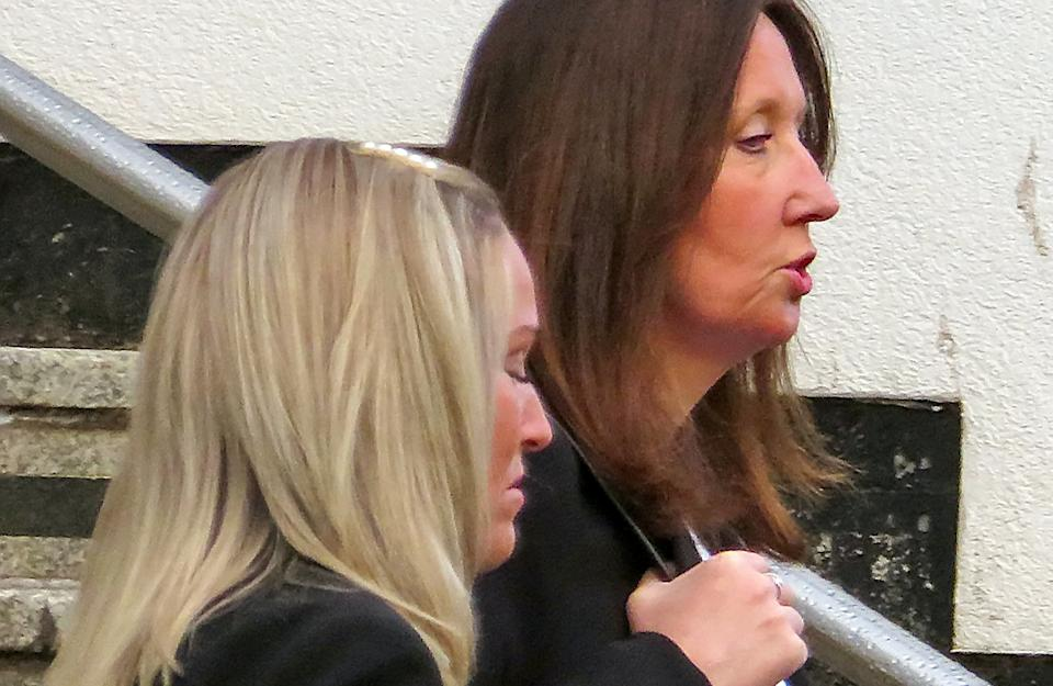 Sarah Oliver (L) and Lynette Armstrong (R). (SWNS)