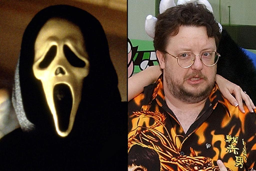 "There's one question that ""Scream"" fans have been asking since the first movie: Who does the scary voice on the phone that taunts the victims before they're attacked. The answer is this man, voice actor <a href=""http://movies.yahoo.com/movie/contributor/1804537279"">Roger L. Jackson</a>. But he doesn't just record his lines after the movie is over. From the beginning Wes Craven had Jackson on the set to actually talk to the actors over the phone to heighten the realism of their performance. And to keep it mysterious, the stars are never allowed to see Jackson face-to-face. Jackson has also lent his voice to numerous cartoons and video games, most notably as the super-intelligent ape Mojo Jojo in ""The Powerpuff Girls.""   <a href=""http://movies.yahoo.com/"">See more at Yahoo! Movies >></a>  <a href=""http://movies.yahoo.com/showtimes-tickets/"">Find showtimes and tickets near you >></a>"