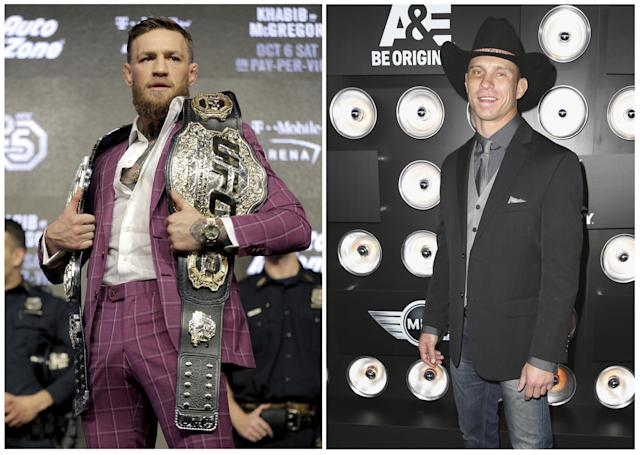 McGregor and Cerrone are due to fight in January: Getty