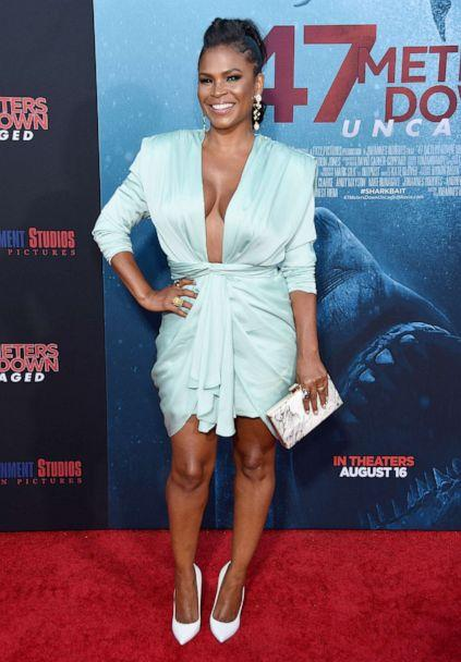 PHOTO: Nia Long arrives at the LA Premiere Of Entertainment Studios' '47 Meters Down Uncaged' at Regency Village Theatre on August 13, 2019 in Westwood, California. (Gregg Deguire/WireImage/Getty Images)