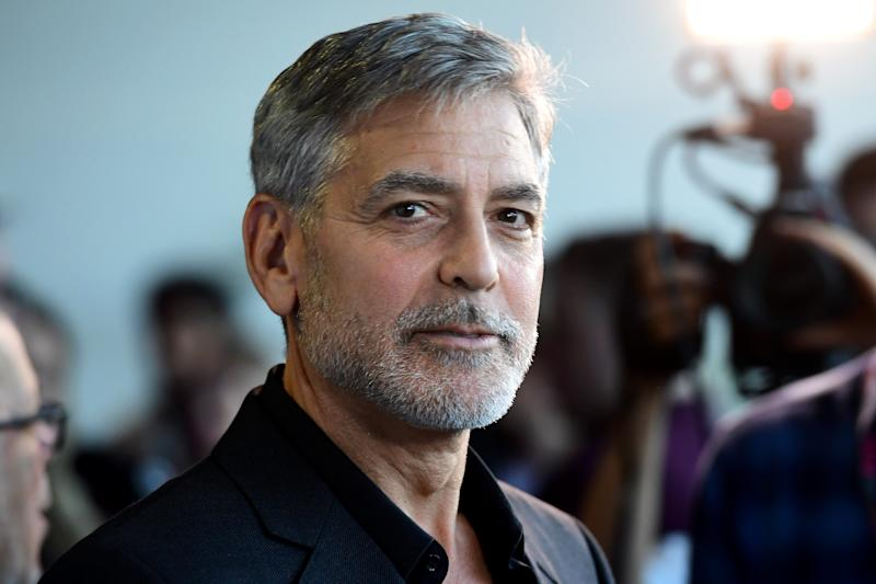 George Clooney attending the Catch-22 UK Premiere, held at VUE Cinema Westfield, London. (Photo by Ian West/PA Images via Getty Images)