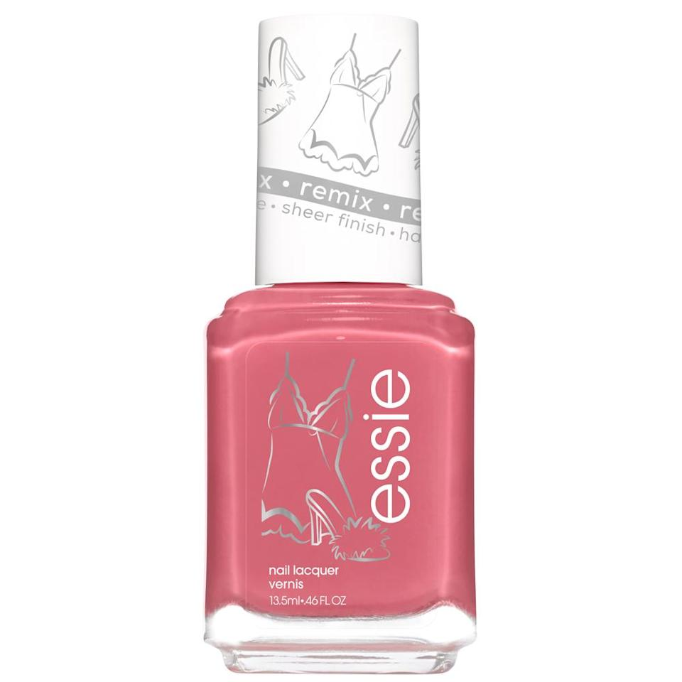 """<p>A romantic pink will make you want to be more social this month. Wearing a shiny and metallic pink on your nails will open your lovely heart up to your friends and allow you to charm your squad with your sweet sentiments. You'll also feel more compassionate from this hue.</p> <p><strong>To shop: </strong>$7; <a href=""""https://goto.walmart.com/c/249354/565706/9383?subId1=ISTheOneNailColorEachSignShouldTryOutforCancerSeasonkgreavesNaiGal4524900202106I&u=https%3A%2F%2Fwww.walmart.com%2Fip%2Fessie-nail-polish-originals-remixed-collection-satin-slip-0-46-fl-oz%2F489015036"""" rel=""""sponsored noopener"""" target=""""_blank"""" data-ylk=""""slk:walmart.com"""" class=""""link rapid-noclick-resp"""">walmart.com</a></p>"""