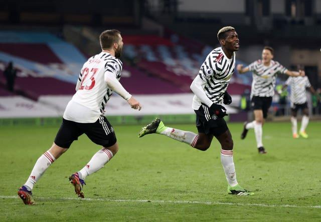 Paul Pogba fired Manchester United to a 1-0 win at Burnley on Tuesday