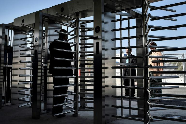 Gates will remain closed at night and disciplinary measures await those who return after eight pm (AFP/LOUISA GOULIAMAKI)
