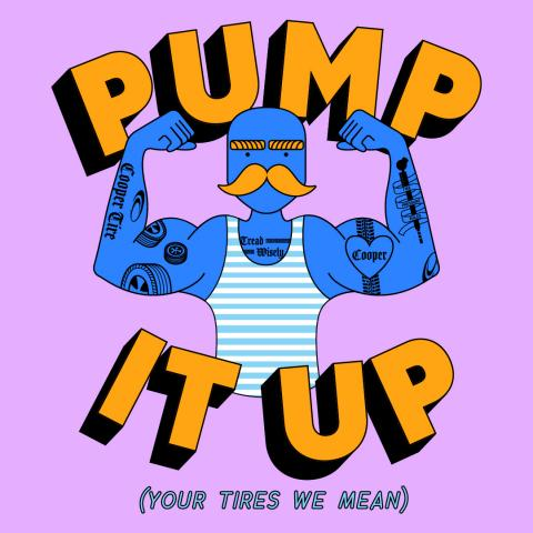 Pump It Up! Cooper Tire's Tread Wisely™ Program and DoSomething.org Launch National Tire Safety Campaign
