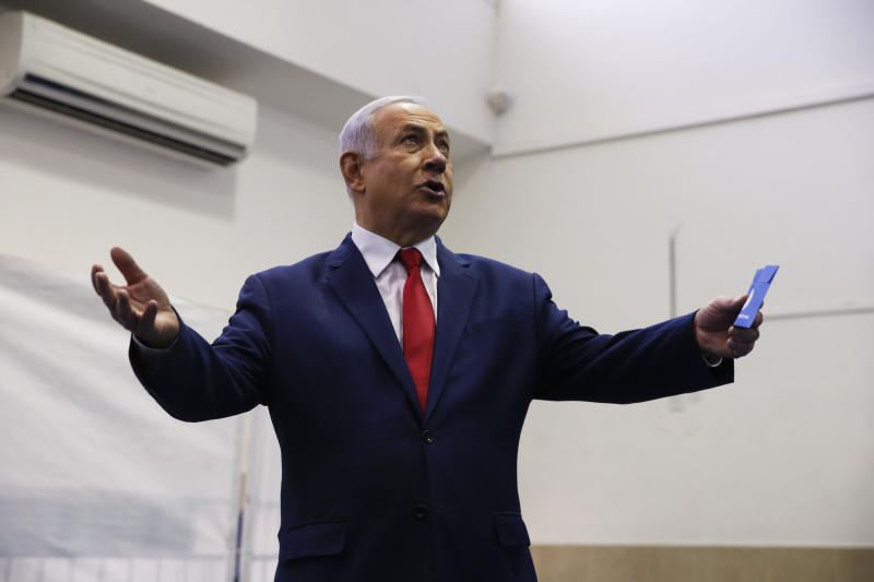 Benjamin Netanyahu's career is pockmarked with scandals. But his looming indictment, a first for a sitting Israeli prime minister, is the most serious yet. (Associated Press)