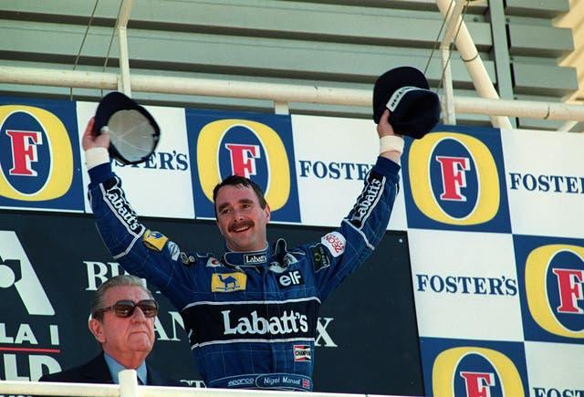 Nigel Mansell endured a very personal rival with Nelson Piquet