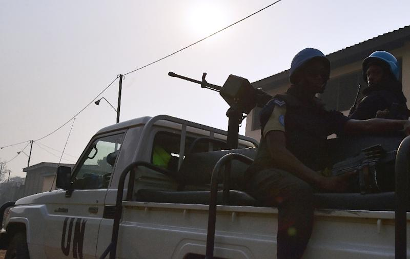 A a contingent of the UN peacekeeping force is based in the central town of Bambari, where deadly clashes between rival factions have regularly broken out