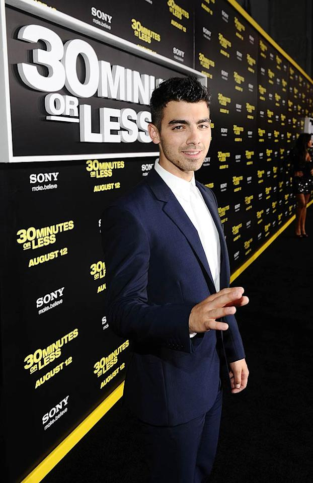 "Singer Joe Jonas of the Jonas Brothers turns 22. Michael Buckner/<a href=""http://www.wireimage.com"" target=""new"">WireImage.com</a> - August 8, 2011"