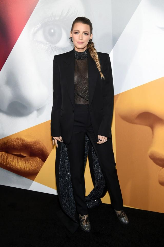 Blake Lively A Simple Favor premiere