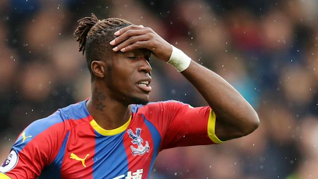 Crystal Palace manager Roy Hodgson felt a muted performance from star winger Wilfried Zaha was due to a back injury.