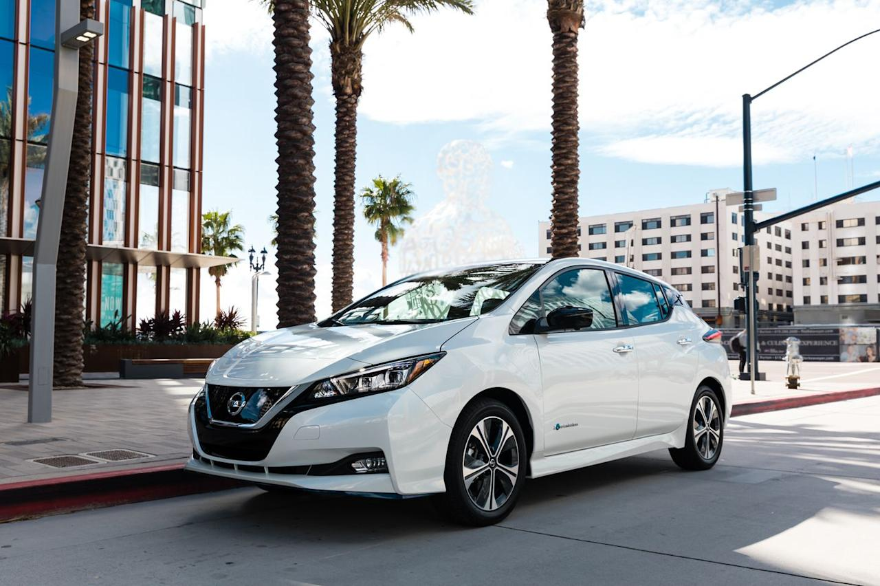 <p>Going on sale in March alongside the 40.0-kWh Leaf, the 62.0-kWh Leaf Plus delivers an EPA-estimated 226 miles of range, up from the standard hatchback's 150 miles.</p>