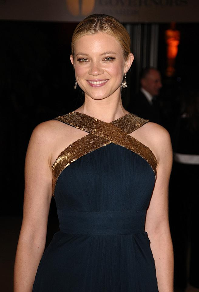 """<a href=""""http://movies.yahoo.com/movie/contributor/1800019236"""">Amy Smart</a> at the Academy of Motion Picture Arts and Sciences' Inaugural Governors Awards - 11/14/2009"""