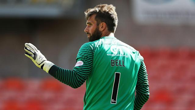 In a barmy Scottish Championship clash, 10-man Dundee United triumphed thanks to three remarkable penalty saves from Cammy Bell.