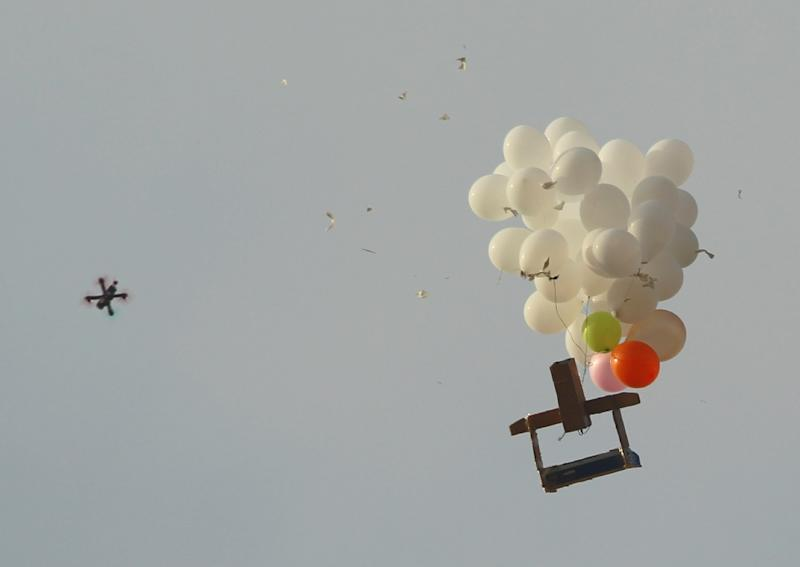 Palestinians in Gaza have for months sporadically launched balloons with incendiary and explosive devices at southern Israel