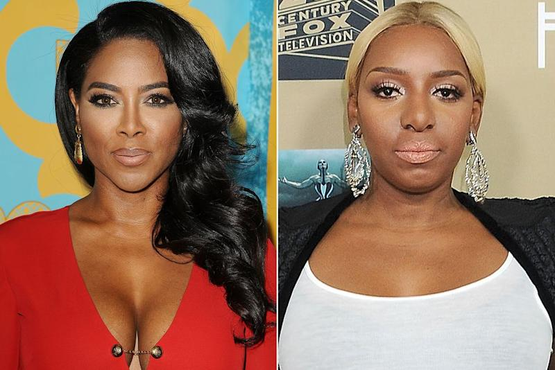 Kenya Moore and NeNe Leakes | Jason LaVeris/FilmMagic; Gregg DeGuire/WireImage