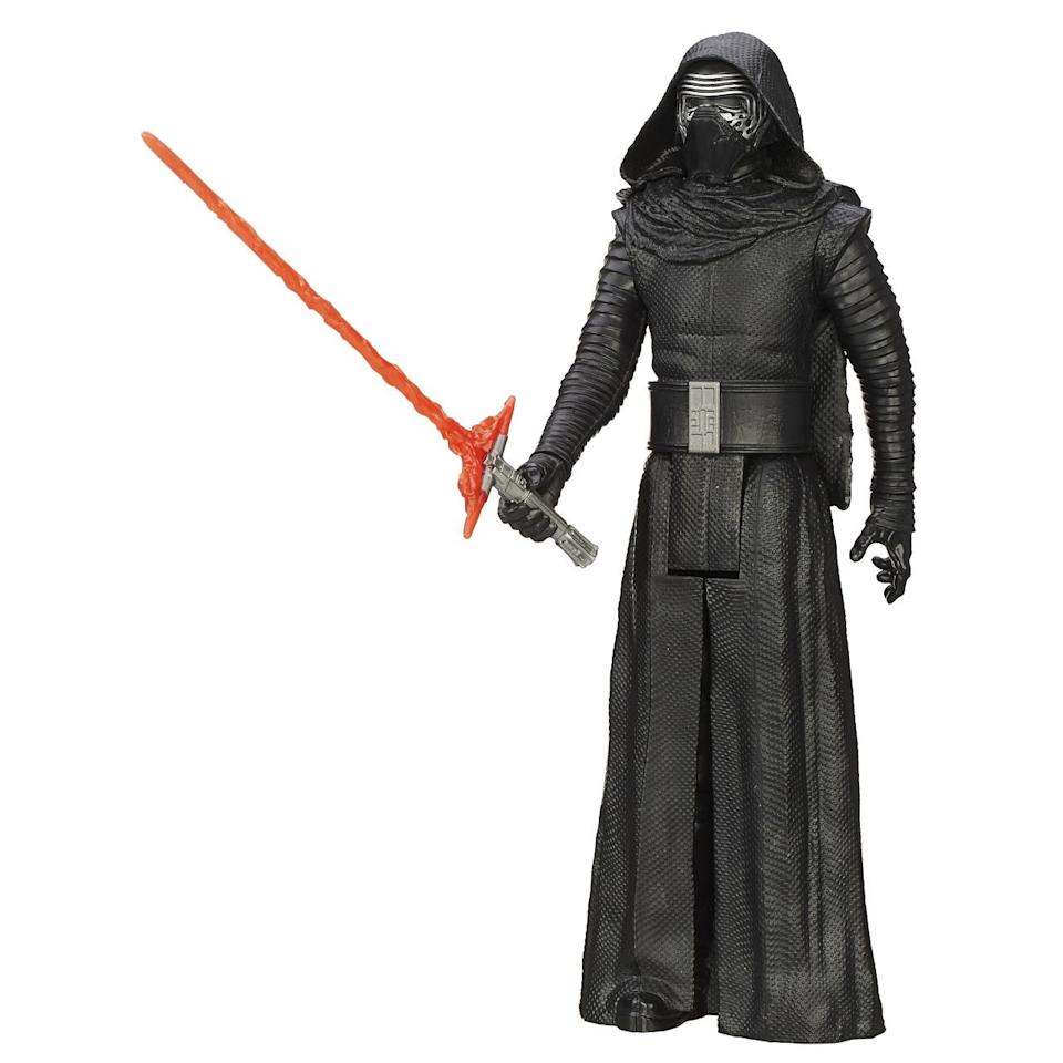 <p>This Kylo Ren is one of eight new additions to Hasbro's Hero Series of 12-inch figures. </p>