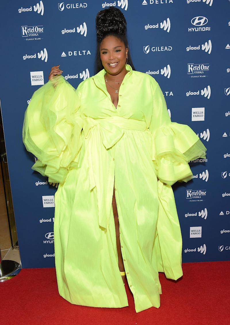 Lizzo at the GLAAD Awards (Getty Images)