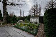 Coco Chanel was buried at the Bois-de-Vaux cemetery in Lausanne, Switzerland