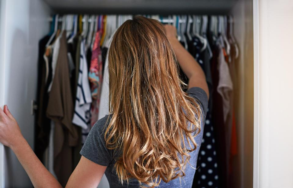 Is your wardrobe getting out of hand? Photo: Getty