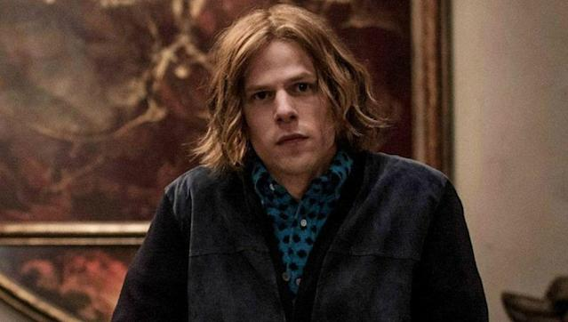 Jesse Eisenberg portrayed the iconic villain Lex Luthor in 2016's 'Batman v Superman: Dawn of Justice'.
