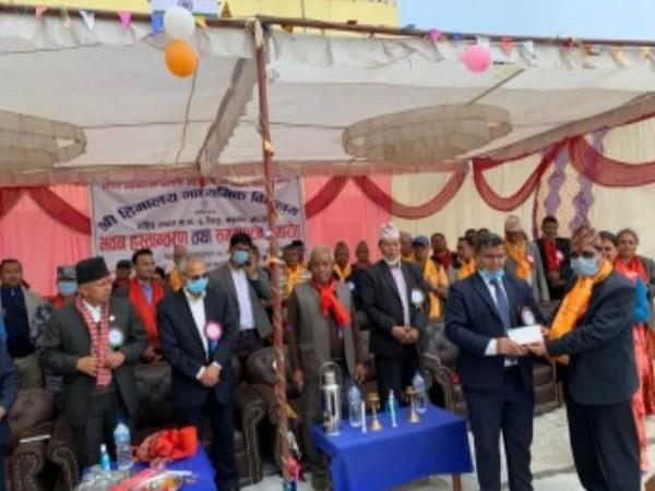 School building built with Indian assistance inaugurated in Nepal