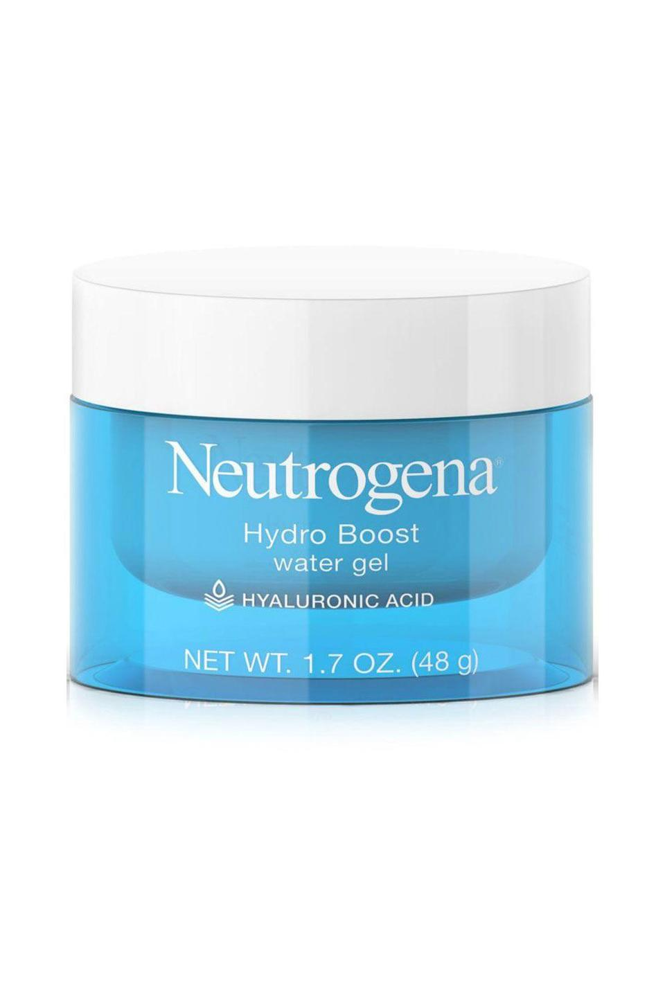 """<p><strong>Neutrogena</strong></p><p>amazon.com</p><p><strong>$14.62</strong></p><p><a href=""""https://www.amazon.com/dp/B00NR1YQHM?tag=syn-yahoo-20&ascsubtag=%5Bartid%7C10072.g.27529759%5Bsrc%7Cyahoo-us"""" rel=""""nofollow noopener"""" target=""""_blank"""" data-ylk=""""slk:Shop Now"""" class=""""link rapid-noclick-resp"""">Shop Now</a></p><p>""""This lightweight water gel has a great price point for a high grade hyaluronic acid-based moisturizer,"""" says <a href=""""https://springstderm.com/"""" rel=""""nofollow noopener"""" target=""""_blank"""" data-ylk=""""slk:Dr. Rita Linkner"""" class=""""link rapid-noclick-resp"""">Dr. Rita Linkner</a>, a dermatologist at Spring Street Dermatology. """"It works well for post laser procedures also to provide proper hydration for wound healing,"""" she adds.</p>"""