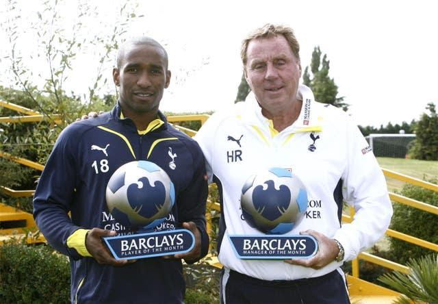 Redknapp brought Jermain Defoe to Tottenham and was rewarded with plenty of goals (Lawrence Lustig/PA)