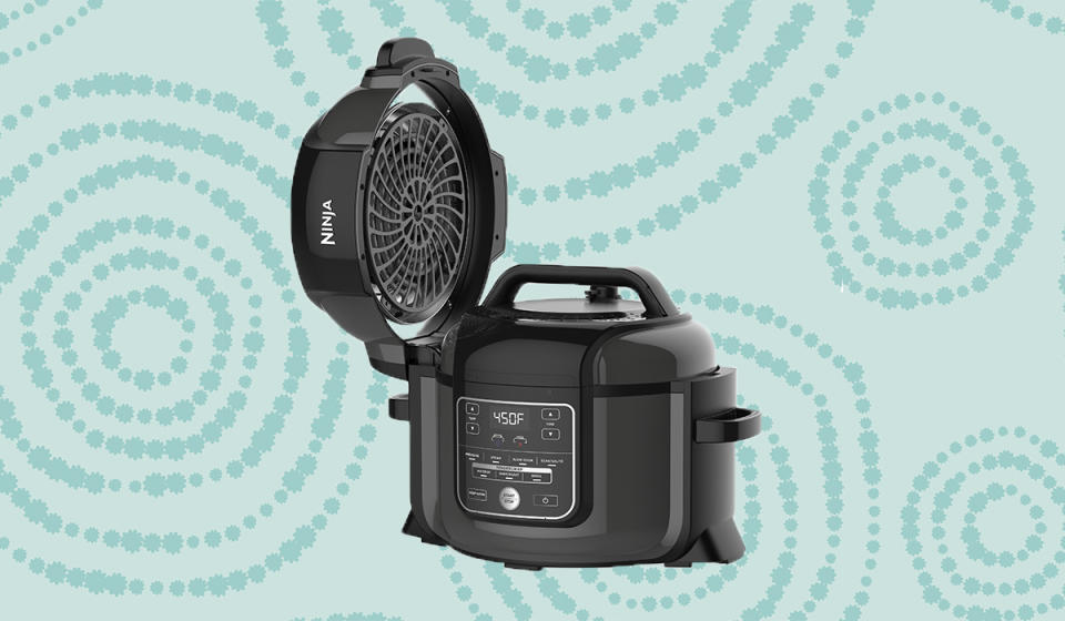 An air fryer that won't leave you fried; a pressure cooker that'll take the pressure off you. (Photo: Walmart)