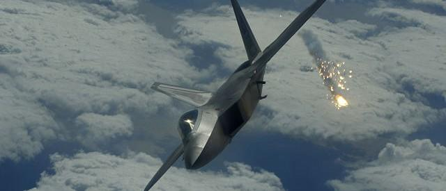 U.S. Military Releases Video Of F-22 Strike Against ISIS [VIDEO]