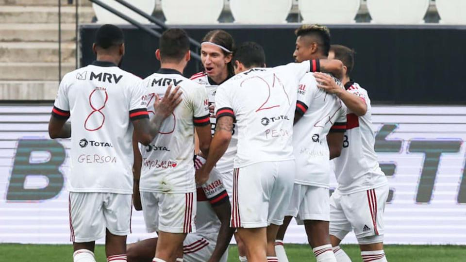 2020 Brasileirao Series A: Corinthians v Flamengo Play Behind Closed Doors Amidst the Coronavirus | Alexandre Schneider/Getty Images
