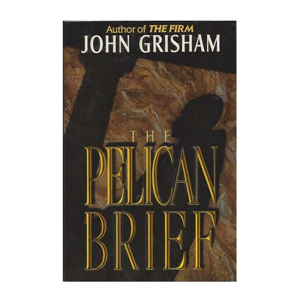 """<p><strong>$16.00 <a class=""""link rapid-noclick-resp"""" href=""""https://www.amazon.com/Pelican-Brief-John-Grisham/dp/0385339704/ref=tmm_pap_swatch_0?tag=syn-yahoo-20&ascsubtag=%5Bartid%7C10050.g.35033274%5Bsrc%7Cyahoo-us"""" rel=""""nofollow noopener"""" target=""""_blank"""" data-ylk=""""slk:BUY NOW"""">BUY NOW</a></strong></p><p><strong>Genre: </strong>Mystery</p><p>After a chain of Supreme Court justices is suddenly assassinated, one law student takes it upon herself to help make progress in the case. But as she prepares to share her findings with the FBI, someone is ready to go to vicious lengths to stop her and destroy the evidence.</p>"""