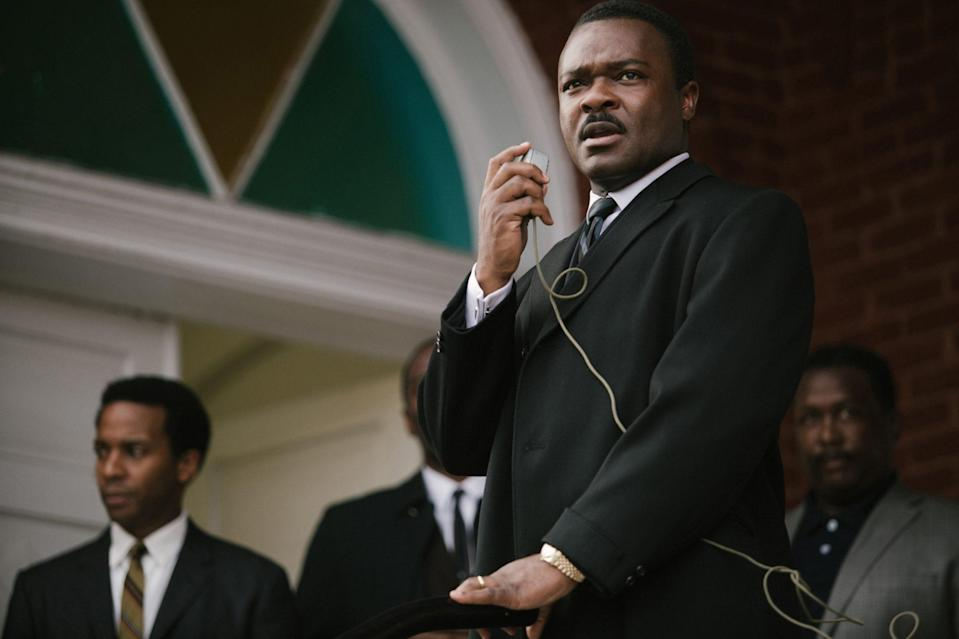 <p>In 2014, Oyelowo brought King to the screen in Ava DuVernay's <em>Selma </em>and his performance earned him a Golden Globe nomination. </p>