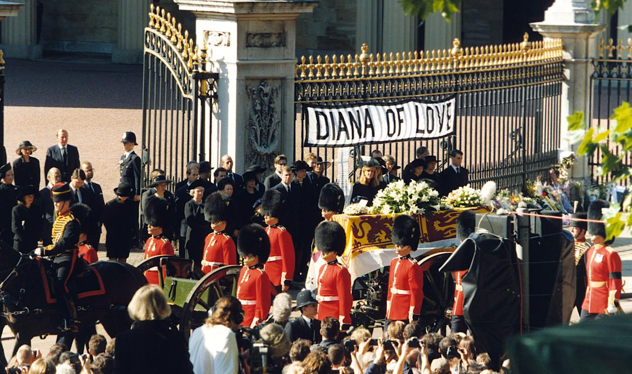 The Day Britain Stood Still Princess Diana S Funeral