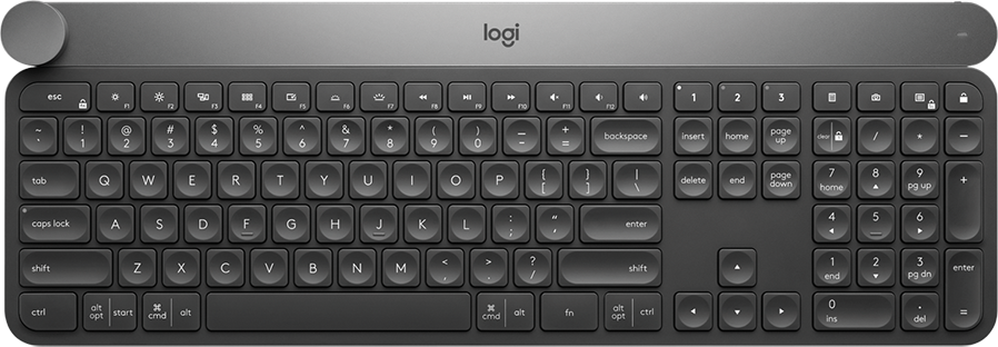 It's a great keyboard—with a knob.