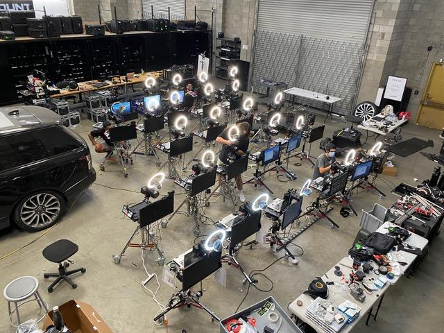 The camera kits that were sent to over 130 nominees for the 72nd Primetime Emmy Awards. (Photo: ABC/Tyler Watt)