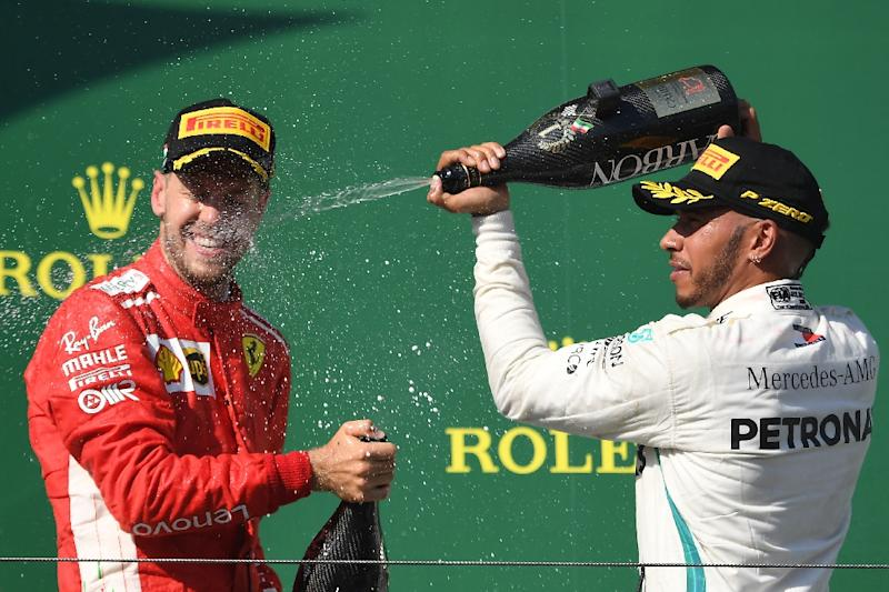 Sebastian Vettel trails Lewis Hamilton by 30 points in the standings