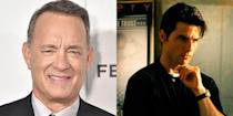 """<p>The writer and director of <em>Jerry Maguire</em>, Cameron Crowe, revealed that he wrote the script with Tom Hanks in mind to play the lead, but when the movie was being cast, <a href=""""https://deadline.com/2017/01/jerry-maguire-cameron-crowe-tom-cruise-james-l-brooks-cuba-gooding-glenn-frey-leigh-steinberg-drew-rosenhaus-20th-anniversary-1201877503/"""" rel=""""nofollow noopener"""" target=""""_blank"""" data-ylk=""""slk:Hanks was directing"""" class=""""link rapid-noclick-resp"""">Hanks was directing</a> <em>That Thing You Do.</em> So they went with another Tom: Mr. Cruise. </p>"""