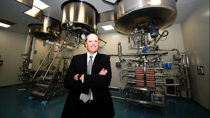 Paul Perreault, CEO of CSL which has lifted its full-year profit by 35% to $US1.09 billion