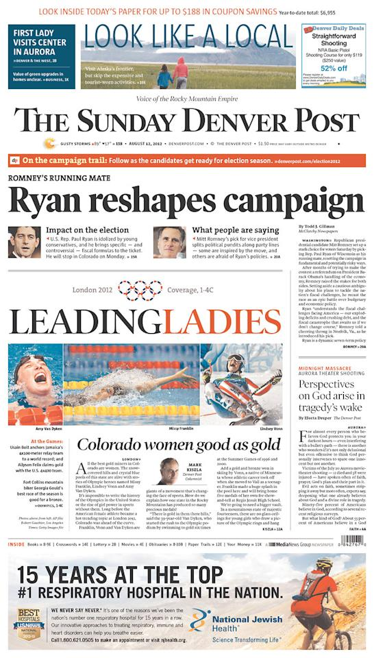 Denver Post, Aug. 12, 2012