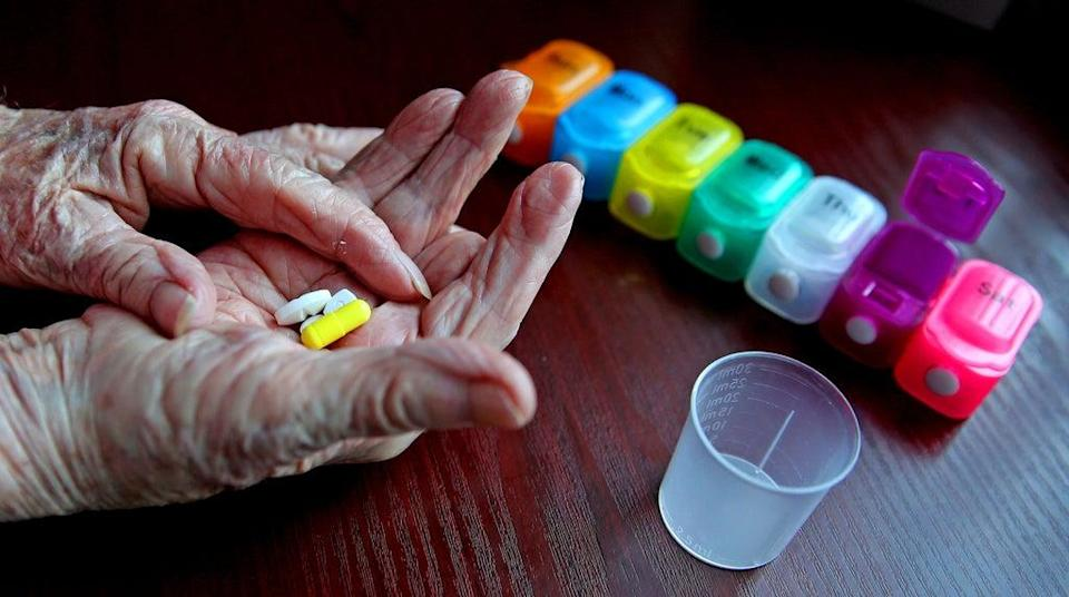 Some 15% of people in England are taking five or more medicines a day, with 7% on eight or more (PA) (PA Archive)