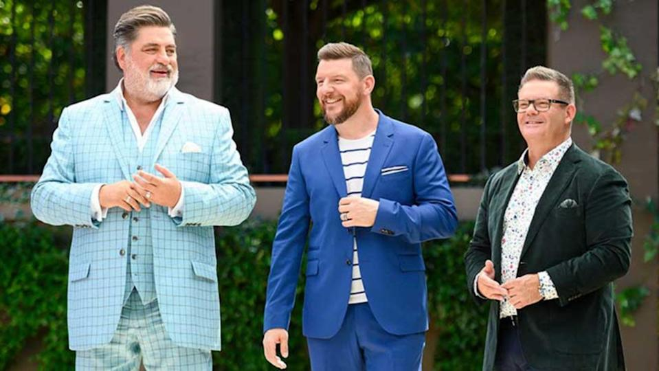 Plate of Origin hosts Matt Preston, Manu Feildel and Gary Mehigan