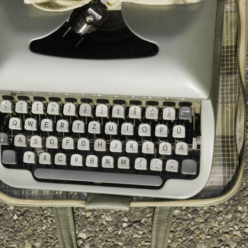 "<p>There is something incredibly romantic about the clickety-clack old typewriter keys make, which could be one of the reasons the machines are highly collectible. Antique typewriters from brands including Underwood usually sell for a hundred or two, but in 2014 a Remington No. 1 was sold on <a href=""https://antiques.lovetoknow.com/antique-price-guides/vintage-typewriter-values"" rel=""nofollow noopener"" target=""_blank"" data-ylk=""slk:eBay for $27,000"" class=""link rapid-noclick-resp"">eBay for $27,000</a>.</p>"