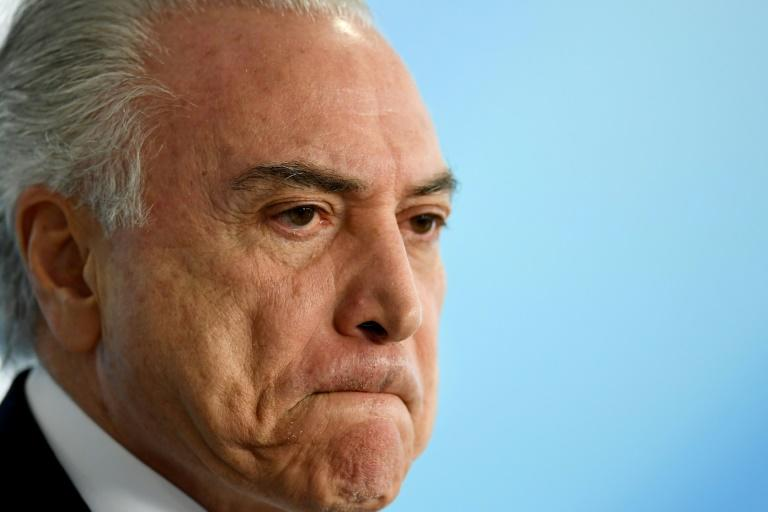Only 7% Brazilians still support Temer amid corruption allegations