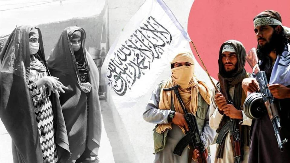 No women included in Taliban