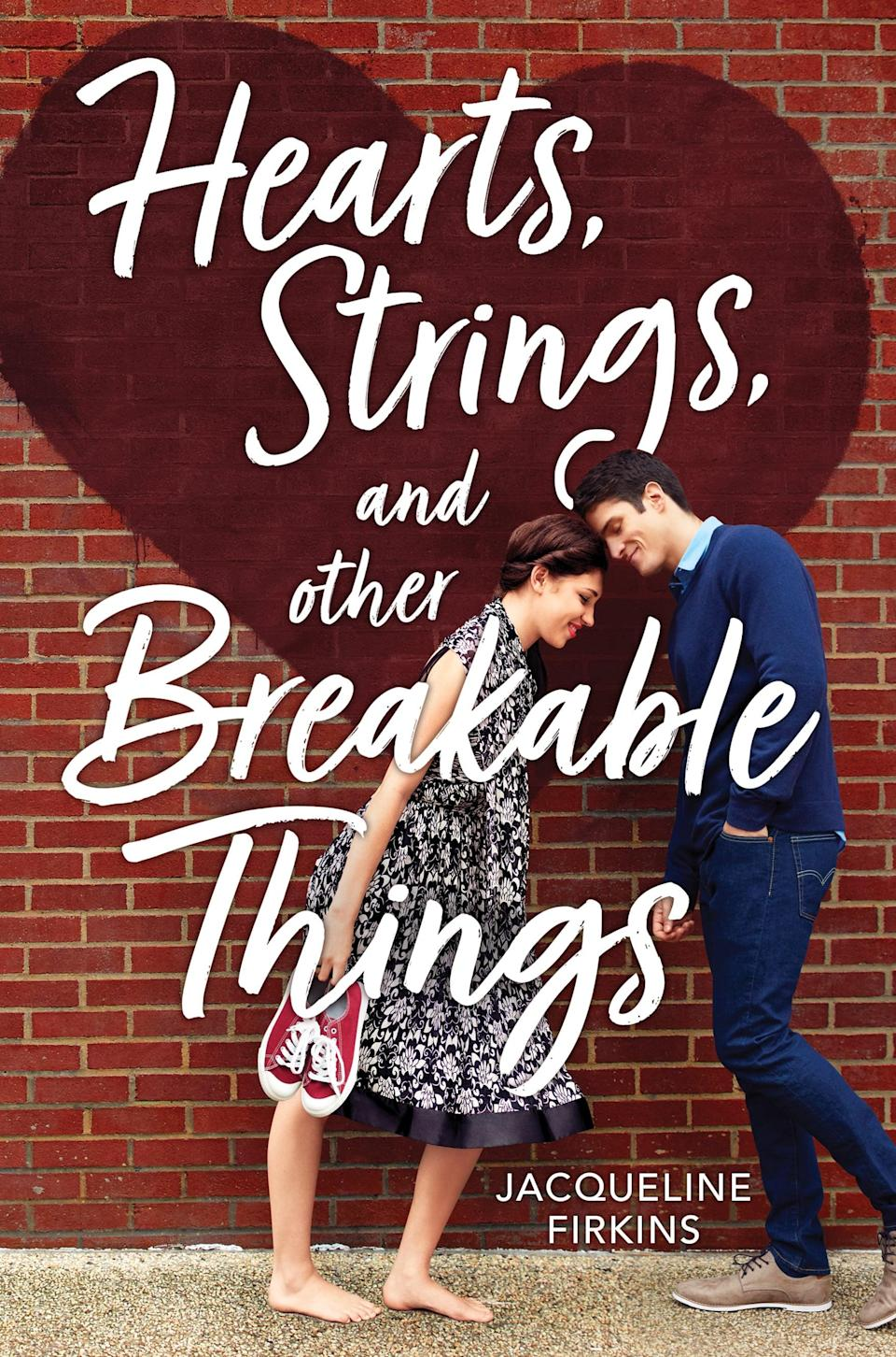 <p>In <strong><span>Hearts, Strings, and Other Breakable Things</span></strong>, Jacqueline Firkins weaves the kind of sweet, messy YA love triangle that will definitely speak to <strong>To All the Boys</strong> fans. After her mother's death, Edie visits her cousins in a wealthy New England enclave, hoping to spend time diving into college prep. Instead, she reconnects with her childhood sweetheart Sebastian (who now has a new girlfriend) and meets Henry, an irresistable bad boy, resulting in a love triangle that's straight out of Jane Austen by way of the 21st century.</p>