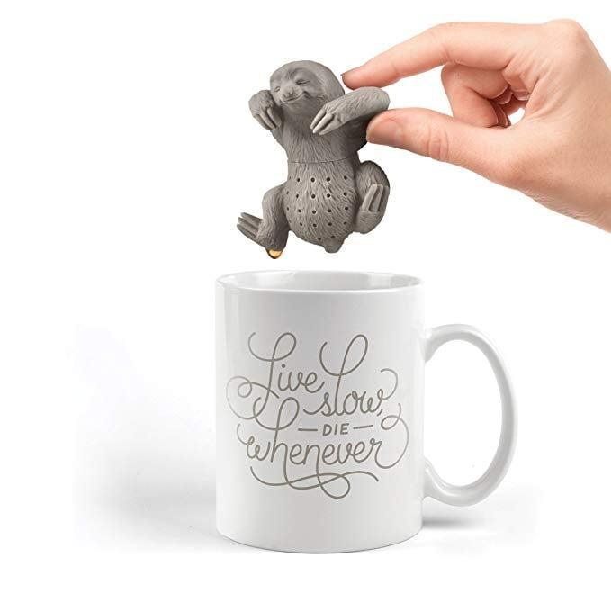 <p>Tea-lovers will adore this <span>Fred Slow Brew Sloth Tea Infuser</span> ($9).</p>