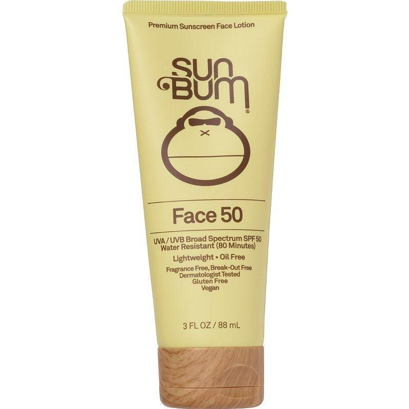 The oil-free Sun Bum Face Lotion SPF 50 offers more than just a cute bottle: It also serves serious SPF 50 protection that meets the Skin Cancer Foundation's strict standards. This formula takes a little while to be fully absorbed, but once it is, it leaves skin feeling soft <em>and</em> protected.